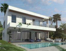 Modern villa Mijas 4