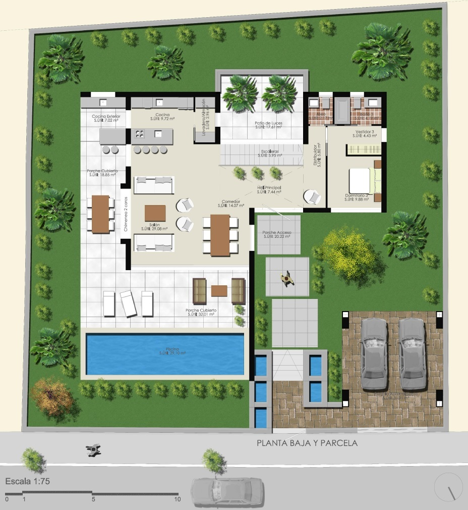 Ref 00186 construction mod le villa for Modele villa