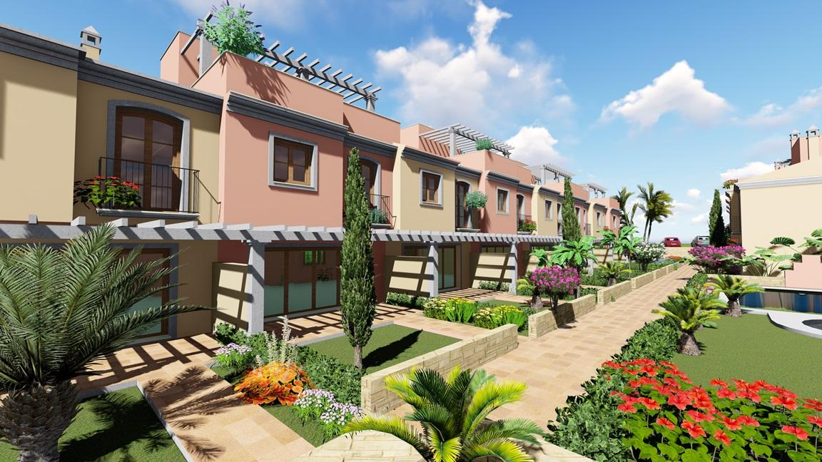 Ref 00215 casas adosadas torre del mar for Casas jardin del mar