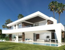 Modern villas Estepona 4