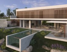 Luxury eco villa Casares 5