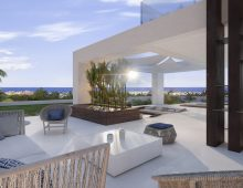 Sea view Villas Estepona 9