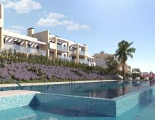 new build golf apartments Casares 3