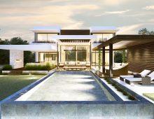 modern villa belair 1