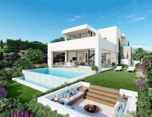modern villas Estepona Golf 1