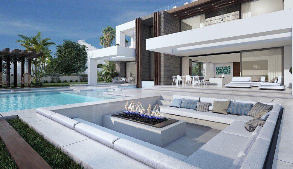 Modern villa La Paloma 2