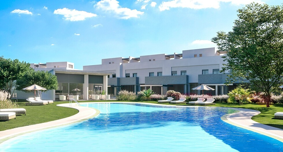 Modern townhomes San Roque 3