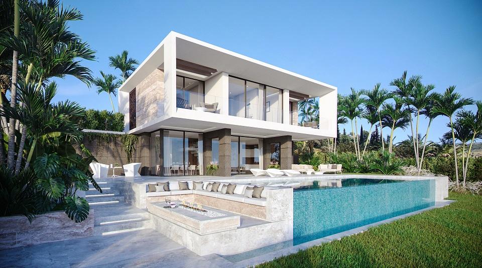 Modern golf villas Estepona 4