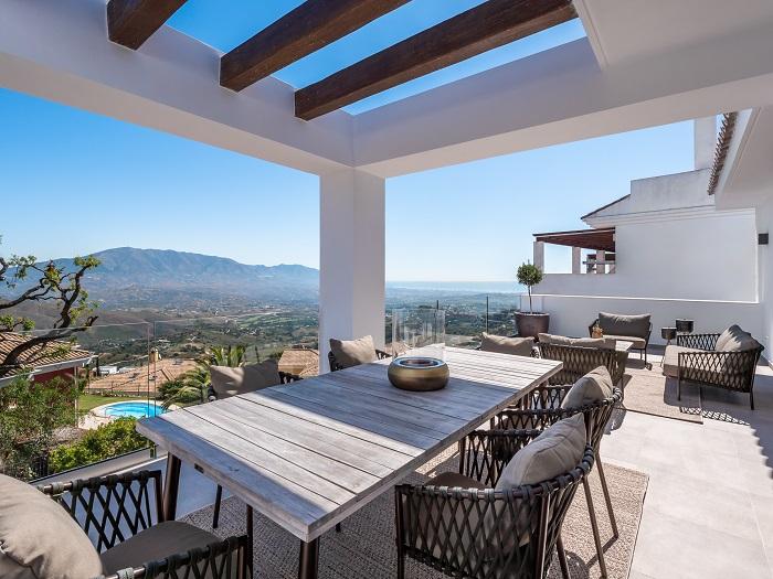Modern houses Monte Elviria 1