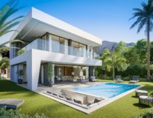 Modern villas Manilva 15
