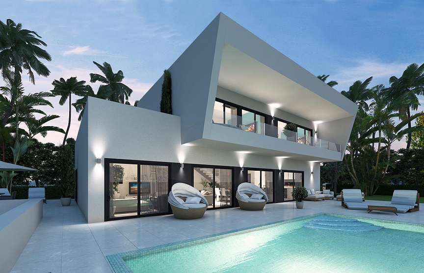 Luxury villa Guadalmina 11