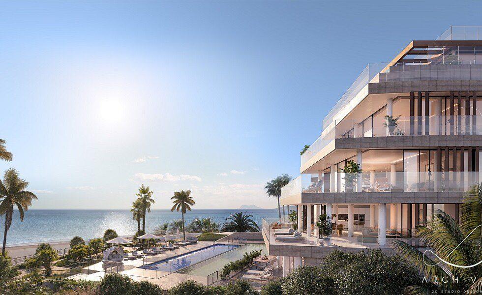 Luxury beachfront Estepona 2