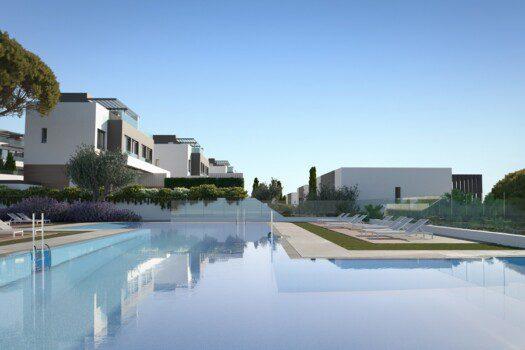 Semi-detached villas Estepona 4