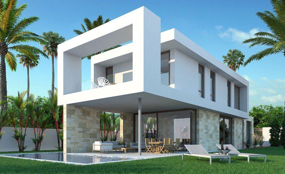 Modern luxury villas San Roque 1
