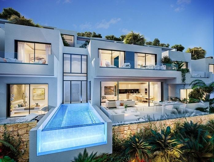 Modern Villa Project Benalmadena 1