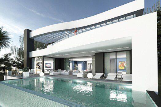 Newbuild villas Benalmadena 10