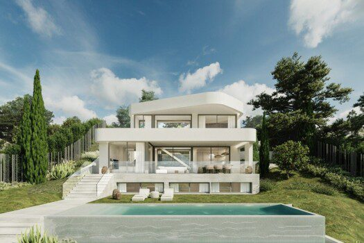 Off-plan villa Estepona 1