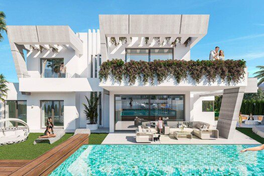 Semi-detached villas Puerto Banus 6